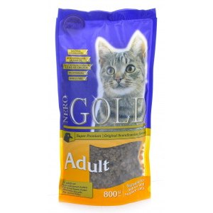 Корм для кошек Nero Gold Super Premium  Cat Adult Chicken 32/18 фото