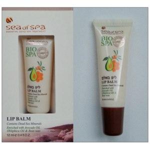 Бальзам для губ SEA of SPA с маслом авокадо, облепихи и пчелиным воском, линия Bio SPA фото