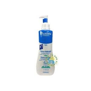 Средство для купания младенцев Mustela Гель детский для мытья головы и тела очищающий (с дозатором) фото
