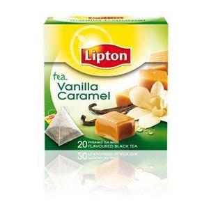 Чай  Lipton Vanilla & Caramel фото