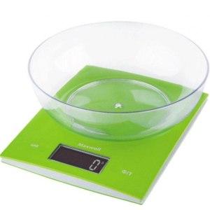 Весы кухонные MAXWELL  MW-1459(G) фото