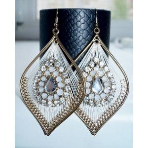 Серьги Aliexpress Qingdao Kayshine Jewelry ER-7209 - превосходное качество за 2$. фото