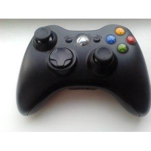 Геймпад Microsoft Xbox 360 Wireless Controller Black + USB-ресивер (JR9-00010) фото