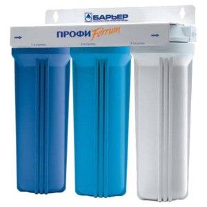 Фильтр для воды  Барьер ПРОФИ Ferrum фото