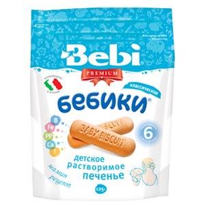 Печенье детское Bebi Бебики классическое фото