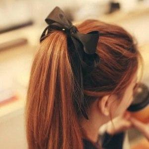 Резинка для волос Aliexpress Fashion sweet Wide ribbon big bowknot Hair bands hairpin jewelry! love sHOP фото