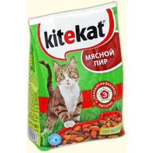 Сухой корм Kitekat фото