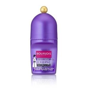 Дезодорант-антиперспирант Bourjois Антиперспирант 48ч невидимый против белых пятен стойкий пудровый аромат фото