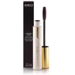 Тушь для ресниц KIKO Luxurious Lashes Extra Volume Brush Mascara / Роскошные ресницы экстра объем  фото