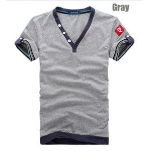 Футболка AliExpress 2014 New Arrival Men Tops Tees Short sleeve t-shirt men's Cotton t shirt Men M~XXXL фото