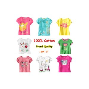 Футболка AliExpress promotion brand 2013 new year car kids baby girl and boy clothing childrens clothes 100%cotton blouse t shirts short sleeve фото