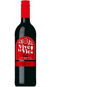 Вино безалкогольное Weinkellerei Hechtsheim GmbH Vive la Vie Rouge красное фото