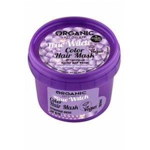 """Оттеночная маска для волос Organic kitchen Колдовской фиолетовый """"True Witch"""" фото"""