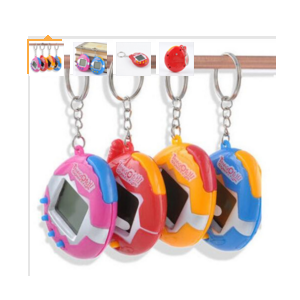 Aliexpress Тамагочи Hot Explosion Models Retro Keychain Keychain Multicolor Optional Color Electronic Pet Can Be Used for Gifts фото