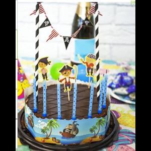 Товары для праздника Fix Price Набор для украшения праздничного торта Артикул: 5320038 фото