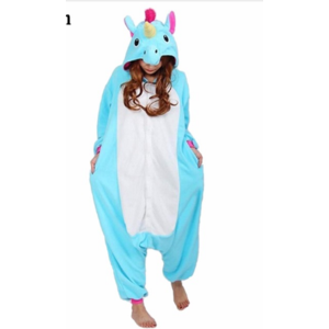 Пижама AliExpress Кигуруми единорог Pajama sets Women pijama unicorn Onesie  Stitch Panda unicornio onesies for adults Animal Pajamas Cartoon Cosplay  pyjama ... a7676433191d9