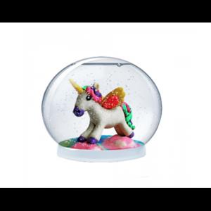 Набор создай волшебный  шар со снегом Bumbaram Magic Moments  Единорог mm-21 фото