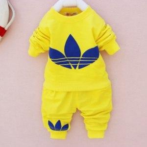 Костюм AliExpress Kids' world retail 1set boy and girl clothing sets autumn spring baby cotton long beach suit colorful printe 2014 new bk1261 фото