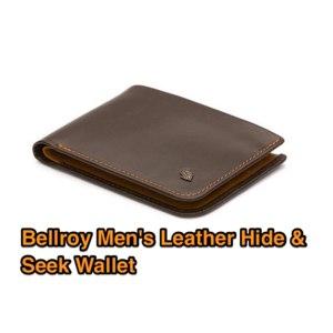 Бумажник Bellroy Men's Leather Hide & Seek Wallet фото