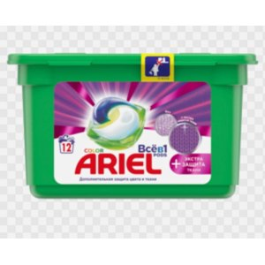 Капсулы для стирки Ariel PODs EXTRA Защита ткани фото
