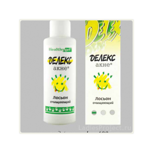 Лосьон очищающий Делекс акне Delex-acne фото