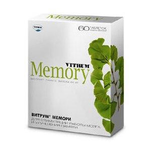 Витрум мемори инструкция по применению цена отзывы врачей.