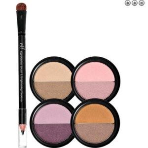 Тени для век и карандаш для глаз E.L.F. Cosmetics, Eyeshadow Set - Day, 5 Piece Set, 0.56 oz (16 g) фото