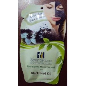 Маска для лица Beauty Secrets Грязевая с маслом черного тмина фото
