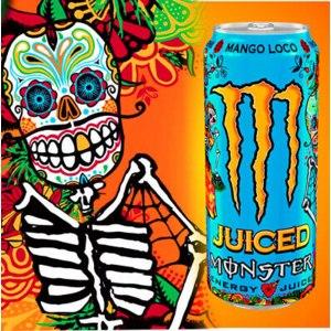 Энергетический напиток Monster Energy Mango Loco  + Juice фото