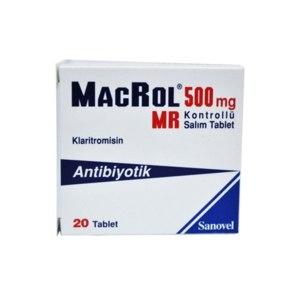 Антибиотик Sanovel Macrol  фото