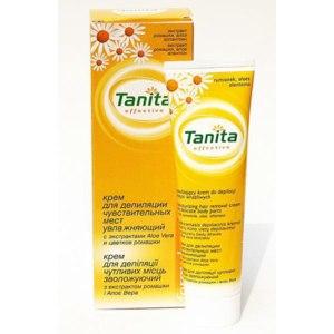 Крем для депиляции  Tanita  замедляющий рост волос фото