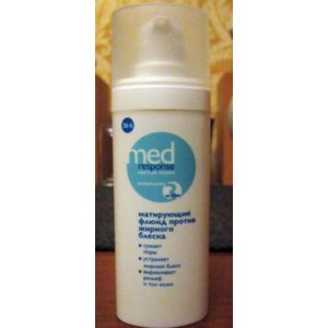 Флюид для лица 36`6 Med Response Матирующий против жирного блеска фото