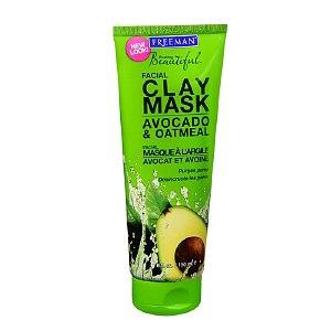 Маска для лица Freeman Avocado & Oatmeal Facial Clay Mask (глиняная с авокадо и овсянкой) фото