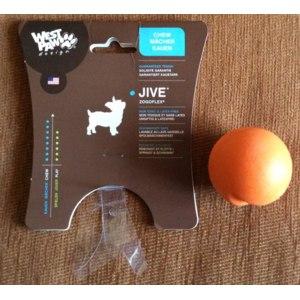 Игрушка для собак ZOGOFLEX Мячик  JIve 5см фото