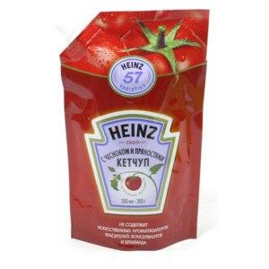Кетчуп Heinz С чесноком и пряностями фото