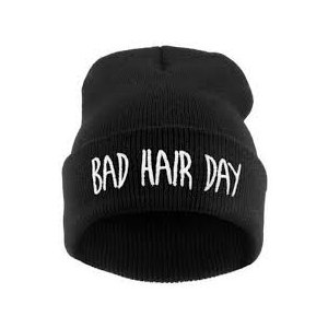 Шапка AliExpress Sport Winter Bad Hair Day Beanie Cap Fashion Women Cotton Blend Beanie Knitted Winter Hiphop Hats Caps RD671503 фото