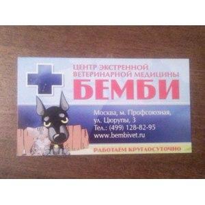 "Ветклиника ""Бэмби"", Москва фото"