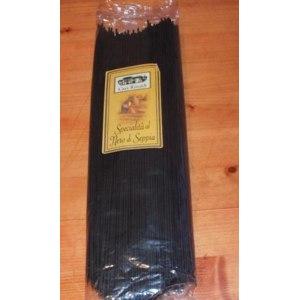 Макаронные изделия  Casa Rinaldi Spaghetti specialita al nero di seppia / Черные спагетти фото