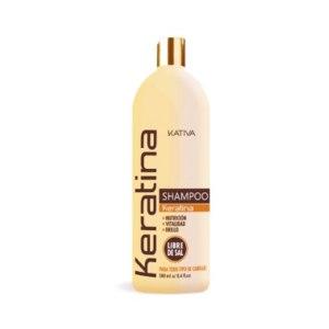 Укрепляющий <b>шампунь</b> с кератином для всех типов волос <b>KATIVA</b>