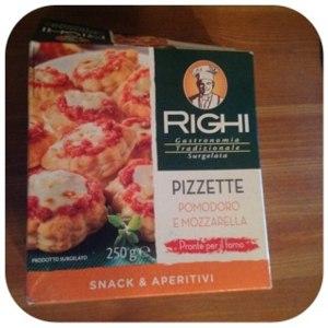 Пицца Righi Pizzette pomodoro e mozzarella мини пицца фото
