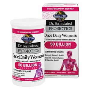 Пробиотик Garden of Life Dr. Formulated PROBIOTICS Once Daily Women's Vaginal +Digestive + Immune System фото