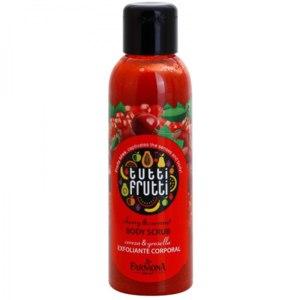 Скраб для тела Farmona Tutti Frutti Body Scrub cherry & currant Вишня и Смородина фото