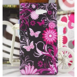 Чехол для мобильного телефона Aliexpress For Sony Xperia M2 Cover,Flower Skin Soft TPU Back Cover Case For Sony Xperia M2 M2 dual D2303 D2305 D2306,Free shipping фото