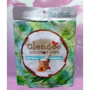 Чипсы кокосовые Glendee с морской солью со вкусом карамели фото