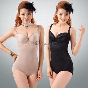 Корректирующее белье AliExpress 2014 New Lady Sexy Corset Slimming Suit Shapewear Body Shaper Magic Underwear Bra Up New #005 SV001920 фото