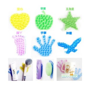 Держатель-присоска для ванной Aliexpress Feet for palm the magic suction cup type super double faced stickers mobile phone soap shampoo фото
