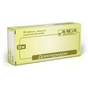 Средства для лечения желудочно-кишечного тракта АЛСИ  Фарма Домперидон фото