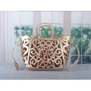 Сумка женская Aliexpress new 2013 fashion women PU leather handbags Classic Elegance hollow out handbag one shoulder фото