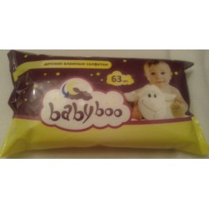 Влажные салфетки Babyboo Детские фото