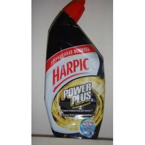 Очиститель унитазов Harpic Power Plus Лимонная свежесть фото